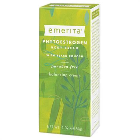 Emerita Phytoestrogen Body Cream With Dong Quai,Licorice and Black Cohosh,2 oz,Each,928005