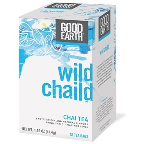 Good Earth Wild Chaild Tea,Wild Chaild Tea,18ct,6/Pack,BWA79170