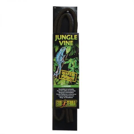 "Exo-Terra Jungle Vines - Bendable,Large - Waterproof (72"" Long x 15 mm Diameter),Each,PT3081"