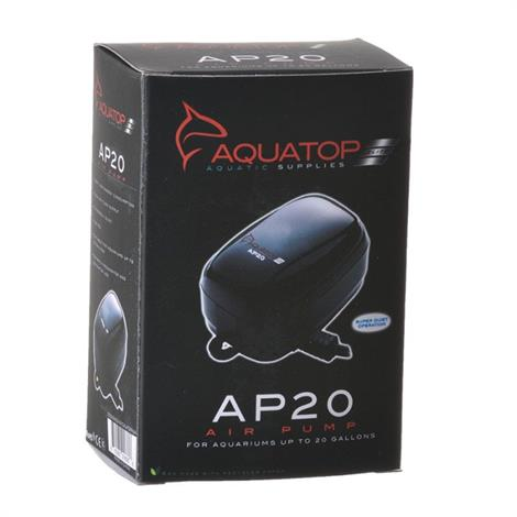 Aquatop Aquarium Air Pump,AP20 Air Pump (Aquariums up to 40 Gallons),Each,AP-20
