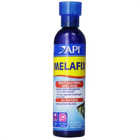 API MelaFix Antibacterial Fish Remedy,16 oz Bottle (Treats 948 Gallons),Each,11J