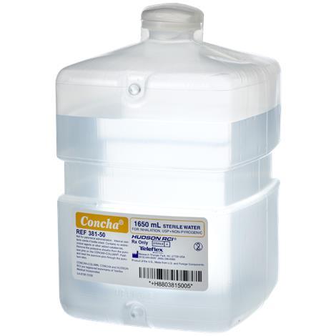 Hudson RCI Concha Sterile Water Reservoirs,1650ml,6/Case,381-50