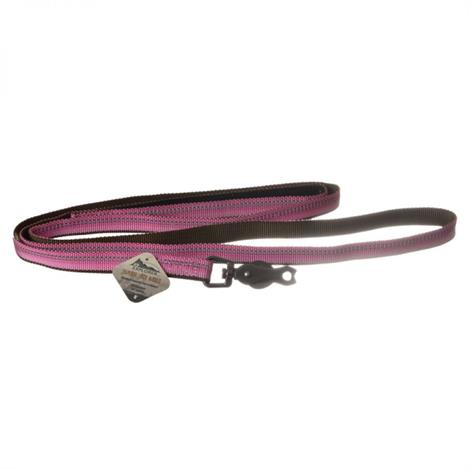 K9 Explorer Reflective Leash with Scissor Snap - Rosebud,6 Long x 5/8