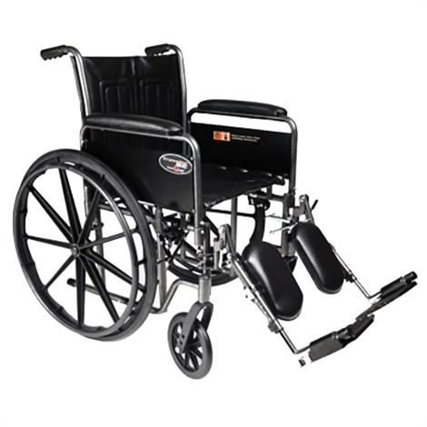 Graham-Field Everest & Jennings Traveler SE Wheelchair,Detachable Desk Arm,Elevating Legrest,Each,3E010230