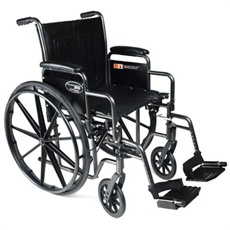 Graham-Field Advantage LX Wheelchair,Detachable desk arm,Elevating legrest,Nylon,Each,3H020130