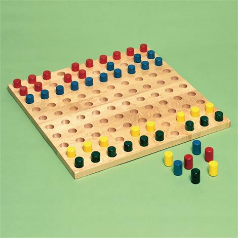Sammons Preston Pegboard with Colored Pegs,Pegboard with Colored Pegs,Each,8160
