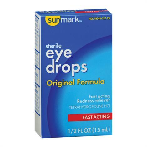 McKesson Sunmark Eye Drops,0.5 oz,Each,1723139
