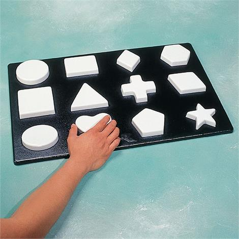 "Rolyan Complex Form Board,24-1/2"" x 16"" x 1/2"",Each,A4161"