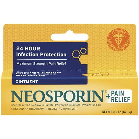 Pain Relief Ointment,0.5oz Tube,Each,23703
