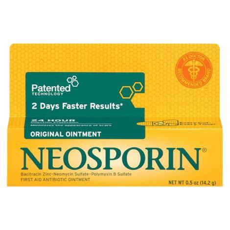 Neosporin Ointment,0.5oz Tube,Each,23734