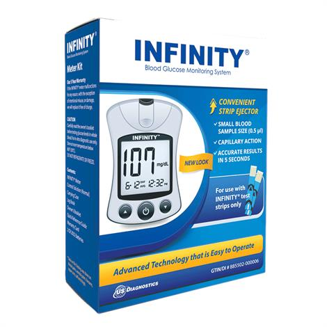 INFINITY Automatic Coding Monitoring System, Meter,4/Pack,G5103