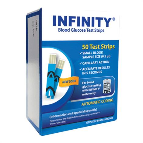 INFINITY Test Strips,Test Strips,50/Pack,G5203S10