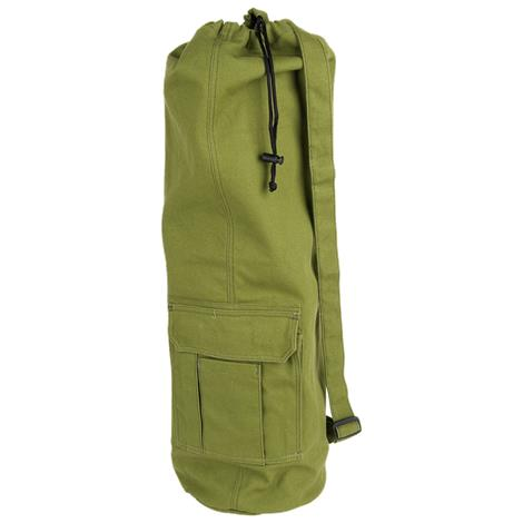"""EcoWise Yoga Mat Bag,25.5""""L x 9.5""""W,Forest,Each,80201"""