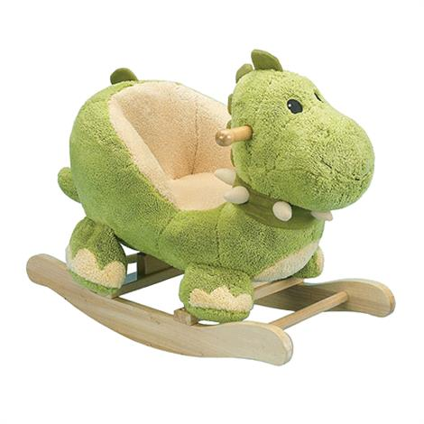 Charm Dewey Dinosaur Rocker,Dinosaur Rocker,Green,Each,82371