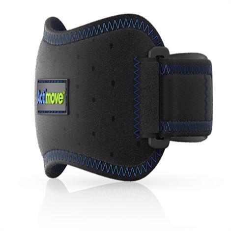 "Actimove Sports Adjustable Patella Strap,Black,29.5 - 41 cm (11.5""-16.33""),Each,7558920"