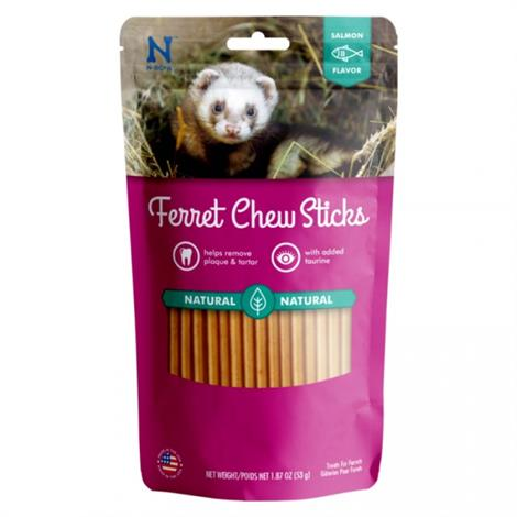 N-Bone Ferret Chew Treats - Salmon Flavor,1.87 oz,Each,111372