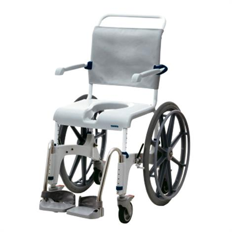 Clarke Aquatec OceanSP Shower Commode Chair with Self Propel Wheels,0,Each,A1534327SP