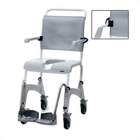 Clarke Aquatec Ocean XL Shower Commode Chair with Wide Back,0,Each,0