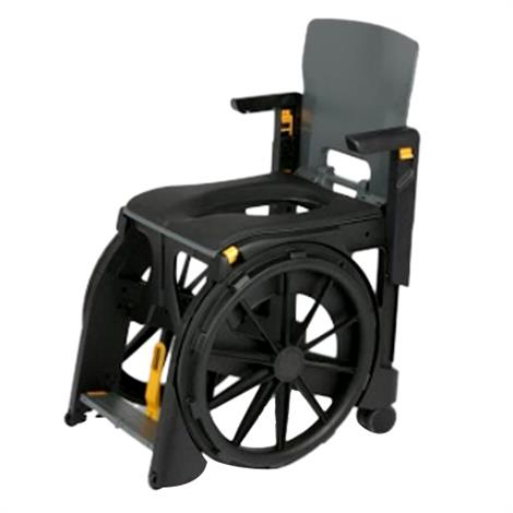 Clarke WheelAble Folding Commode and Shower Chair,0,Each,0