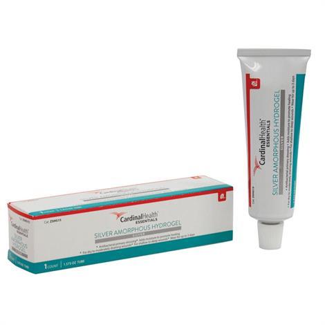 Cardinal Health Essentials Silver Amorphous Hydrogel 1.5 Oz Tube,1.5Oz Tube,Each,Hg15