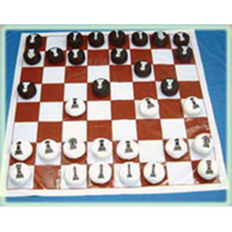Yellowtails Chess Checkers,With Cone,Each,YTC-237-4