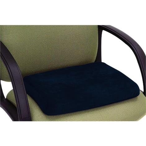 "Essential Medical P.F. Memory Foam Molded Wedge Comfort Cushion,18"" x 16"" x 3"" x 1-/2"",Each,N3008"