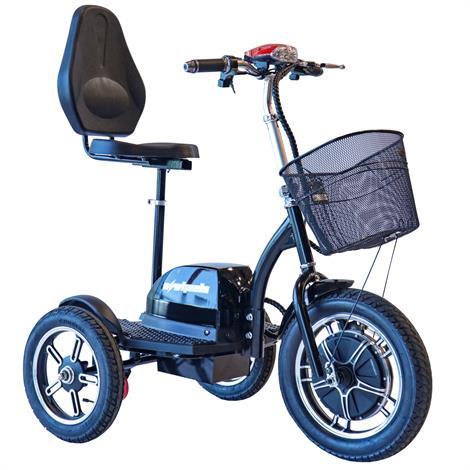 EWheels EW-Big Wheels Mobility Scooter,BLACK,Each,EW-Big Wheels