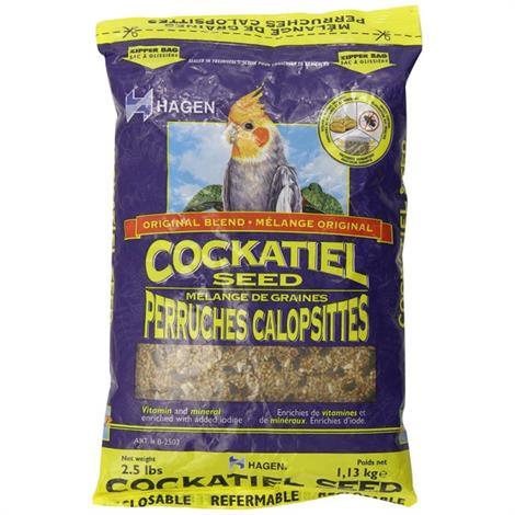 Hagen Cockatiel Seed - VME,2.5 lbs,Each,2503