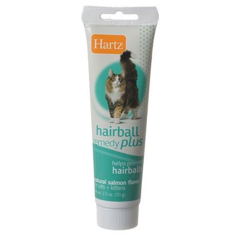 Hartz Hairball Remedy Plus Cat & Kitten Paste - Natural Salmon Flavor,2.5 oz,Each,95009