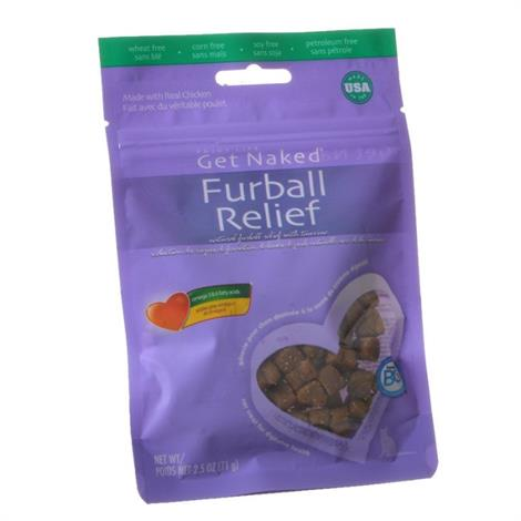 Get Naked Furball Relief Natural Cat Treats,2.5 oz,Each,701177