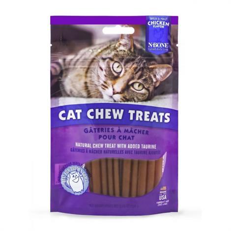 N-Bone Cat Chew Treats Chicken Flavor,3.74 oz,Each,111198