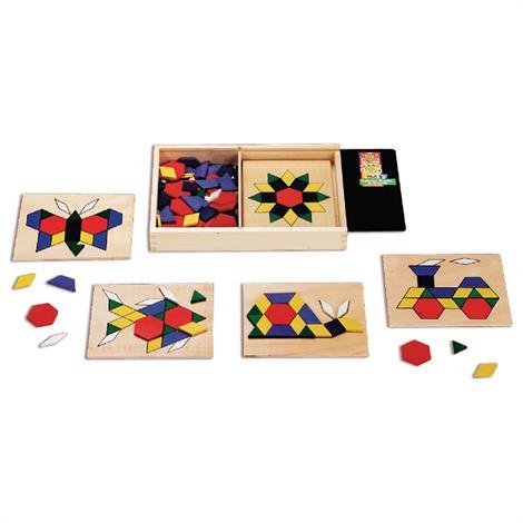 Sammons Pattern Blocks And Boards,Pattern Blocks & Boards,Each,920644 - from $26.99
