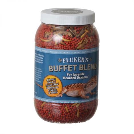 Flukers Buffet Blend for Juvenile Bearded Dragons,4.4 oz,Each,76051