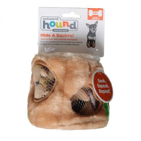"Plush Puppies Plush Hide-A-Squirrel Dog Toy,- 4.5"" Diameter,Each,PP01057"