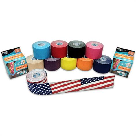 MuscleAidTape Elastic Kinesiology Tape,0,Each,MT1