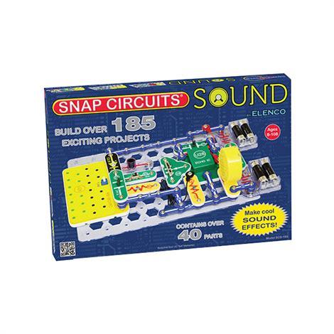 Elenco Snap Circuits Sound,Circuits Sound,Each,SCS-185
