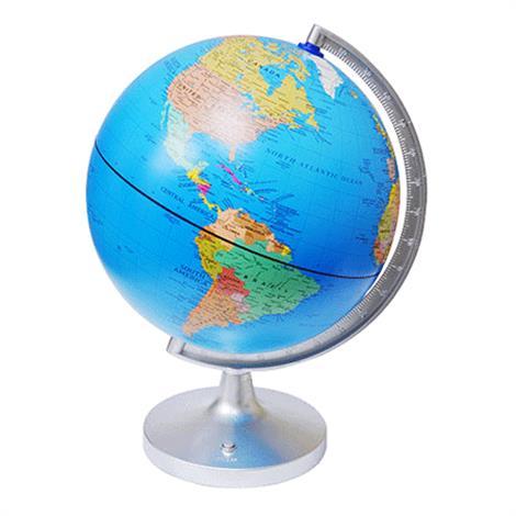 Elenco Dual-Cartography LED Illuminated Globe,LED Illuminated Globe,Each,EDU-2837