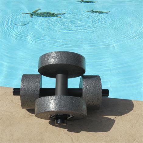 "Sprint Aquatics Minimum Resistance 4 Inch Disc Hand Bells,Size Of Foam: 4"" X 2"",Pair,Spa769"