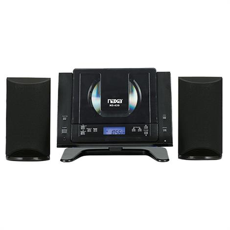 Naxa Digital CD Microsystem with Bluetooth,Microsystem with Bluetooth,Each,NS-439