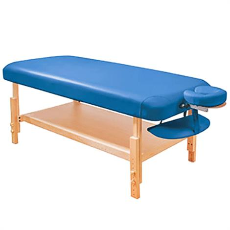 Fabrication Basic Stationary Massage Table,Blue,Each,15-3740B