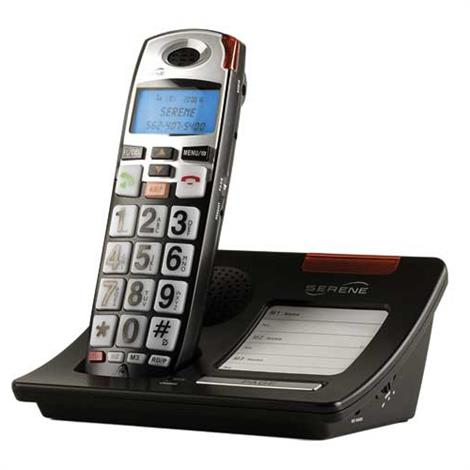 Serene Innovations CL60 Cordless Amplified Phone With Big Buttons And Caller ID,Cordless Amplified Phone,Each,CL-60