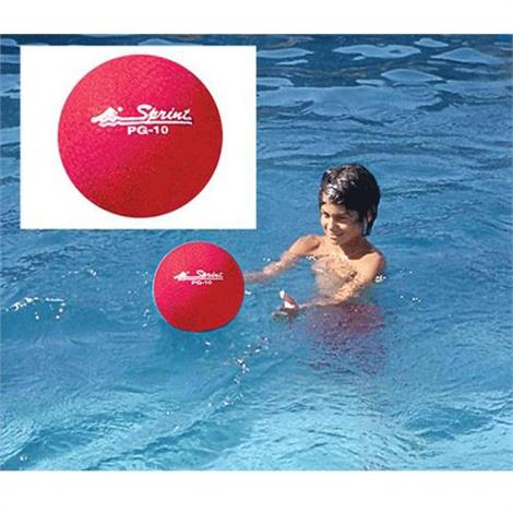 Sprint Aquatics 16 Inch Rubber Exercise Ball,Red,Each,SPA144