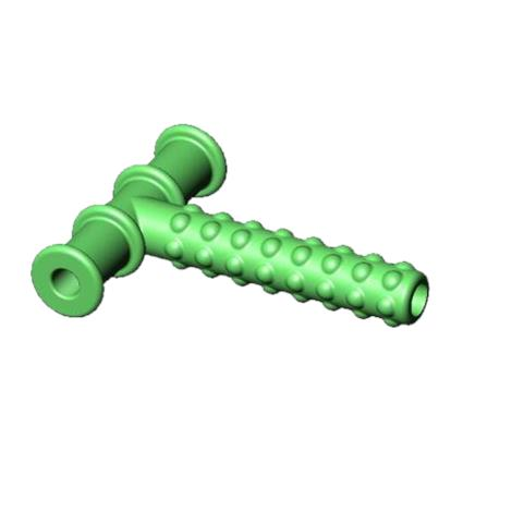 """Chewy Tubes Accessories for Jaw Rehabilitation Program,1/2"""" Red Chewy Tube,Each,565825"""