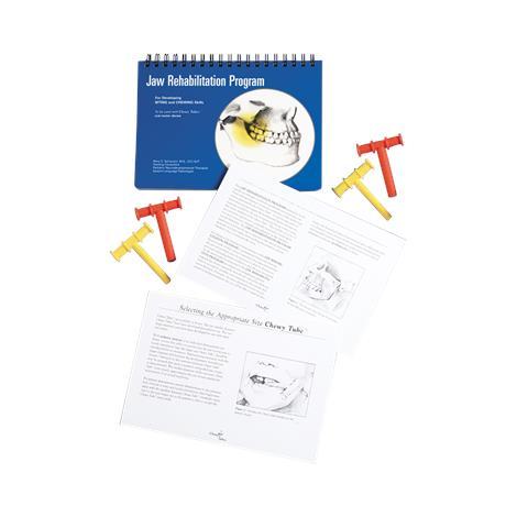 Chewy Tubes Jaw Rehabilitation Program Kit,Program Kit,Each,920370