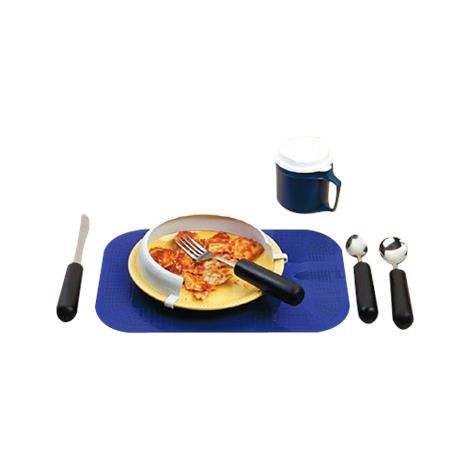 Large Grip Weighted Dining Kit,Kit,Each,557144