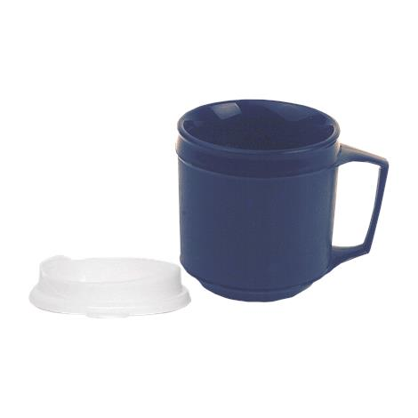 Kinsman Insulated Weighted Cup,8oz Blue,Each,557142
