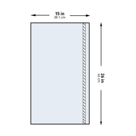 """McKesson General Purpose Utility Drape,15""""W x 26""""L,Sterile,100/Case,183-I80-05126-S"""