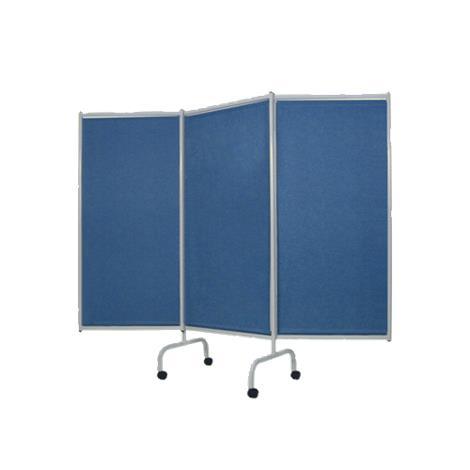 Winco Privess Elite Designer 3 Panel Steel Frame Privacy Screen,0,Each,3170