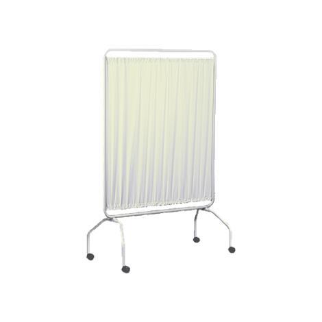 Winco Privess Single Panel 42 Inches Wide Privacy Screen,Standard White Vinyl,Each,3420