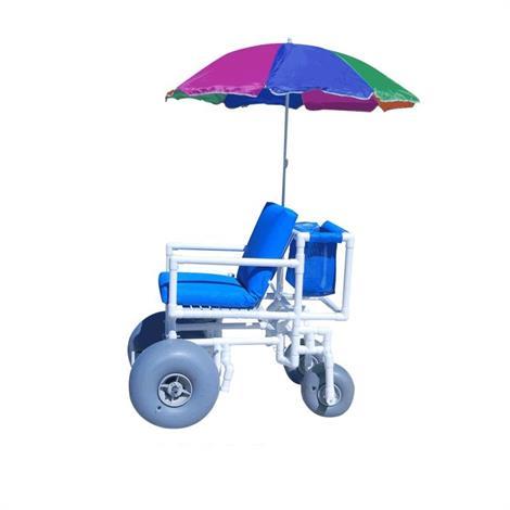 Aqua Creek Beach Access Chair With Rear Articulated Wheels,Beach Access Chair,Each,F-014BAC